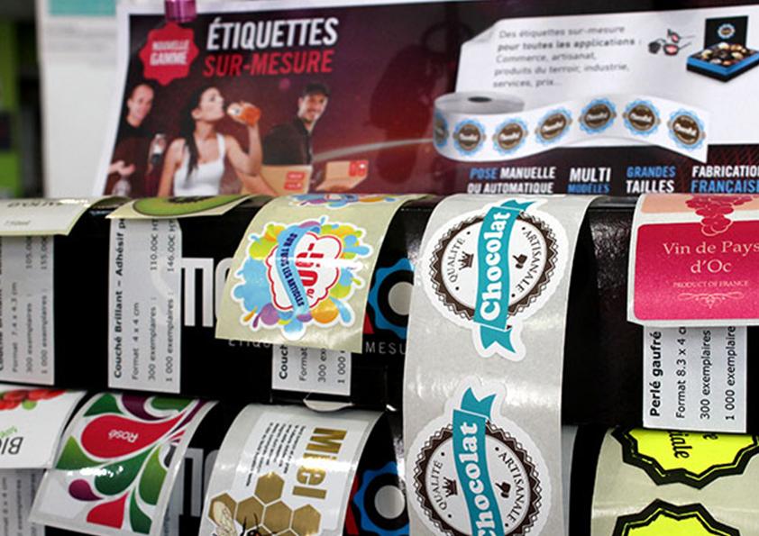 Étiquettes personnalisées